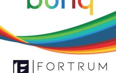 Fortrum(NL) successfully collaborated withCLARITAS Europe(IRL) to advisebunq